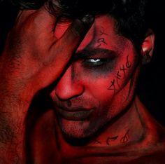 El Diablo makeup