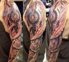#tattoo #tattoos #biomechanical