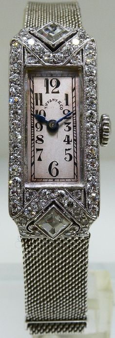 Patek Philippe Ladies Art Deco Patek Philippe made for Tiffany & Co. Made circa 1920′s.