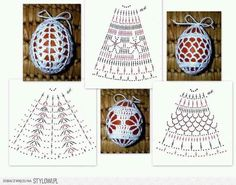 Christmas Archives - Beautiful Crochet Patterns and Knitting Patterns Christmas Archives - Beautiful Crochet Patterns and Knitting Patterns Always wanted to be able to knit, however not cert. Easter Egg Pattern, Christmas Crochet Patterns, Holiday Crochet, Crochet Motifs, Crochet Diagram, Crochet Chart, Crochet Stone, Crochet Ball, Confection Au Crochet