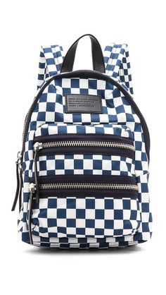 Marc by Marc Jacobs Domo Arigato Checkered Mini Packrat Backpack