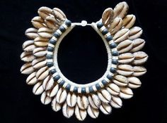 Ethnic Cowrie Shell Necklace With Fish Bone Bijoux Coquille Fashion Jewelry Art #Unbranded