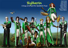 Slytherin Asoiaf Quidditch 2 by guad on DeviantArt