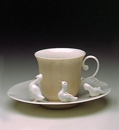 Taza de la firma Lladró, 1994                                                                                                                                                                                 Mais