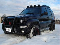 lifted jeep liberty - Google Search