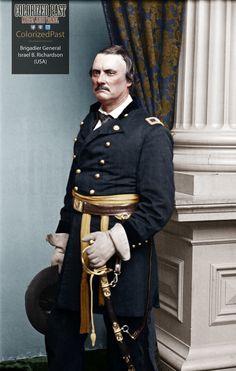 Union General Israel Bush Richardson MWIA American Revolutionary War, American Civil War, American History, Battle Of Antietam, Union Army, Major General, Us History, Ancient History, War Photography