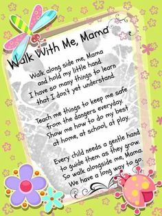 Cute poem. I'm not a little girl anymore but if I change a few things it'll be a cute gift idea.