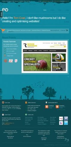 Page CSS Based Web Design Gallery - Designers love nature! Web Design Gallery, Colours