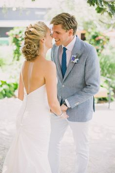 Rustic Blue Wedding in Ontario By Andrew Mark Photography