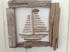 SAVE Five Dollars Driftwood sailboat Driftwood art Sailboat art Beach home decor…                                                                                                                                                                                 Plus