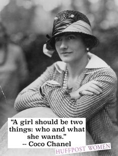 Happy birthday, Coco Chanel!
