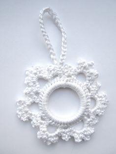 Sneeuwvlok kersthanger