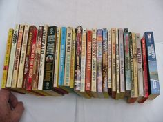 Mixed Title Westerns by Mixed Authors - 29 Used Books (No Dup's) - #L9