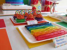 Rainbow of Color Guest Dessert Feature | Amy Atlas Events
