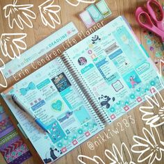 How I decorate my Erin Condren Life Planner #eclifeplanner Save $10 off your 1st order by following the link!
