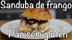SANDUBA DE FRANGO COM PÃO SEM GLÚTEN