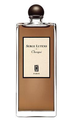 Chergui: TOP NOTES: Amber, hay    MIDDLE NOTES: Sandalwood, myrrh, incense, iris    BASE NOTES: Leather, musk, tobacco leaf, honey    OLFACTIVE GROUP: Oriental