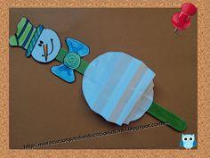 Recursos didácticos para la etapa de Educación Infantil: Muñeco de nieve