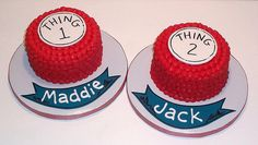 cakes for baby a and baby b
