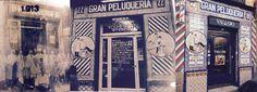 PELUQUERÍA VALLEJO (1908-actualidad). Fachadas a través del tiempo.