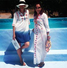 Filipa and Cristina Jorge de Carvalho wearing CS head to toe #christophesauvatgirls