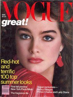 Brooke Shields - Vogue May 1981 by Avedon