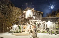 Photography: MHM Photography // Venue: The Barn at Chestnut Springs