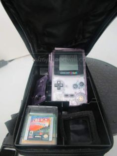 shopgoodwill.com: Lot of 4 Game Boy Games With Gameboy and Bag