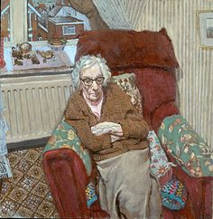 """Mabel from Eastbourne"" -- Stuart Pearson Wright"