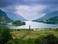 Glennfinnan, Scotland (by Julian Kaesler)