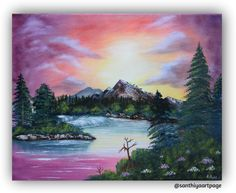 Mountain Brook by SanthiyaArtPage on Etsy