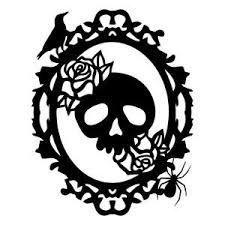 Sorcière Silhouette chauve-souris Crâne DIE CUT HALLOWEEN MIX x 20 maison hantée noir