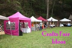 Crafts fairs or bazaars are a great way to meet your target market, show your creative artwork, and make some money.  Here is a list of easy and inexpensive crafts you can make or sew, and sell at a crafts fair, festival, or bazaar.