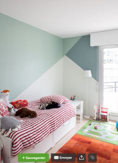 Folie Mericourt – Marion Dériot - Kinderzimmer gestalten - Pictures on Wall ideas Boy Room Paint, Room Wall Painting, Painting Kids Rooms, Boys Room Paint Ideas, Room Ideas, Wall Ideas, Bedroom Wall, Girls Bedroom, Bedroom Decor