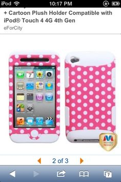 I pod touch 4g case Available on amazon