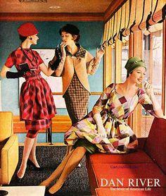 Couture Allure Vintage Fashion: Dan River Plaids - 1958