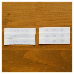 Dailylike daily cotton label 05 - 100% cotton