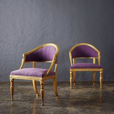 Wonderful #Swedish #18thcentury carved armchairs coming up in the #FineArtandAntiques sale on 2 June at Nybrogatan 32, Stockholm. #1074 #EphraimStåhl #StockholmsAuktionsverk