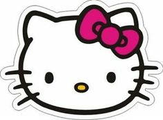 It's easy to search a Hello Kitty head clipart file, but it's not easy to select the best Hello Kitty Head such as this file. Featured with a proportional head of Hello Kitty picture in… Sanrio Hello Kitty, Hello Kitty Games, Chat Hello Kitty, Hello Kitty Bow, Hello Kitty Birthday, Hello Kitty Clipart, Hello Hello, Kitty Party, Images Hello Kitty