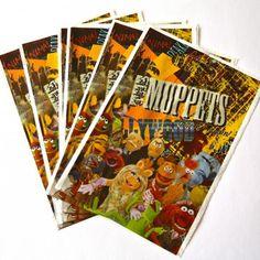 Bolsas Muppets - Artículos de Fiesta