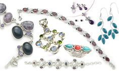 Silver Jewelry | Silver jewelry exporters india, silver jewelry manufacturers, silver ...