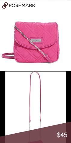 Spotted while shopping on Poshmark: Vera Bradley Chain Strap Crossbody Bag  Fuscia! #poshmark #fashion #shopping #style #Vera Bradley #Handbags
