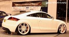 Audi TT on S-line wheels - Low