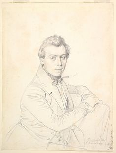 Portrait of the Architect Charles-Victor Famin Jean Auguste Dominique Ingres (French, Montauban 1780–1867 Paris) Date: 1836 Medium: Graphite...