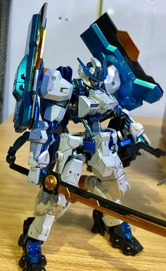 HG 1/144 Gundam Astaroth Origin [Astray Blue Frame Colors] - Painted Build     Modeled by  kradelto