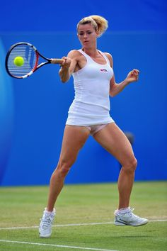 "olympic88: "" Camila Giorgi 2014 Aegon International Eastbourne """