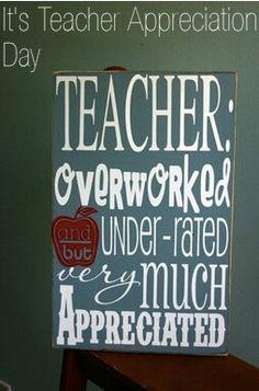 Love to all teachers!