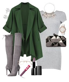 """""""Today's LOTD 9/19"""" by church-fashion on Polyvore featuring Michael Kors, Boohoo, GUESS, WithChic, John Lewis, Pori, Sunday Somewhere, Illamasqua and Lime Crime"""