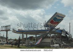 Chevron gas station on the corner of Mcfarland (82) and 15th street, had to be demolished because it was so badly damaged by the April 27, 2011 tornado in Tuscaloosa Alabama