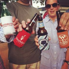 Can't live without a koozie. Southern tradition.